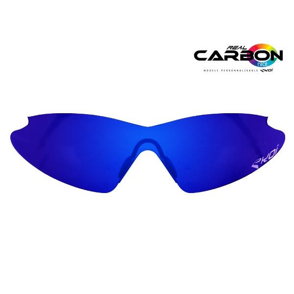 Cristal solar revo azul EKOI REAL CARBON RACE
