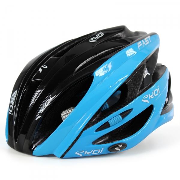 Casc Fasot 3 EKOI negro azul