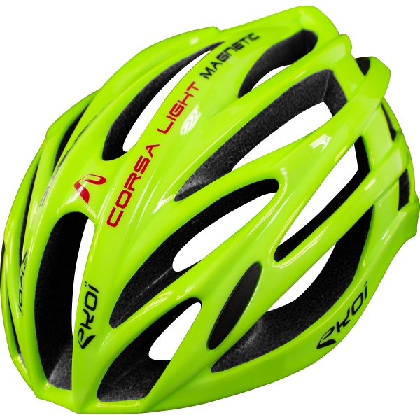 CASCO EKOI CORSA LIGHT NEON AMARILLO