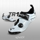 Zapatillas de triatlón EKOI TR1 LD carbono blancas