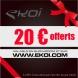 CHEQUE CADEAU 20 euros