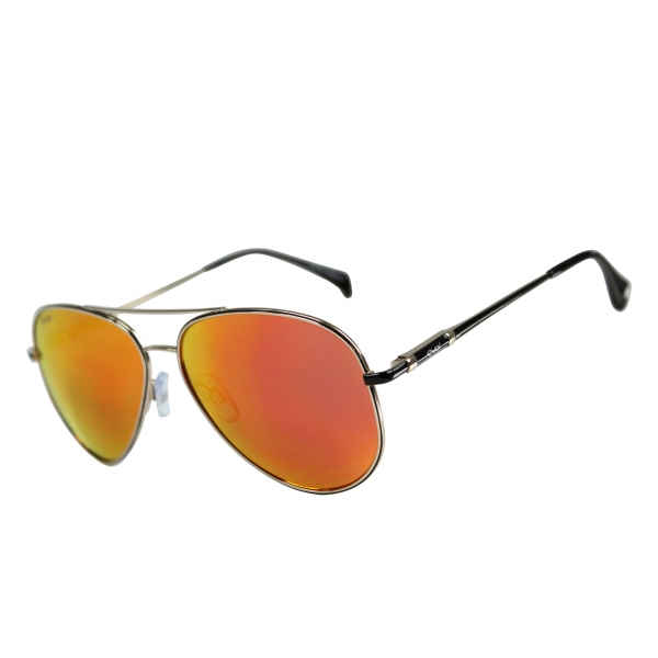 Gafas EKOI SUN negras y naranjas