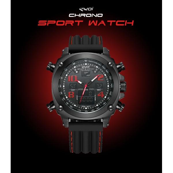 Montre EKOI Chrono Sport Watch