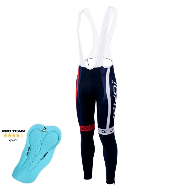 Collant hiver EKOI COMP10 Proteam Bleu France