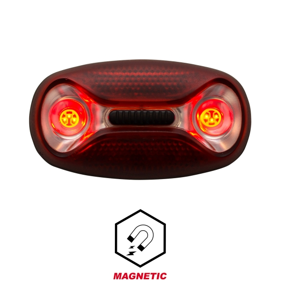 Iluminación LED magnético EKOI Rojo