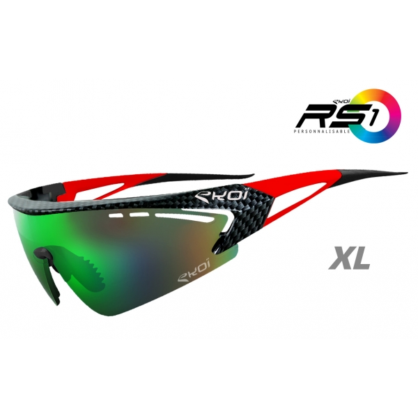 RS1 EKOI LTD Carbone Rouge XL Revo Vert