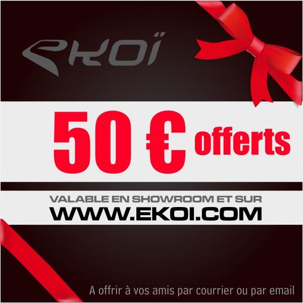 CHEQUE REGALO DE 50 euros