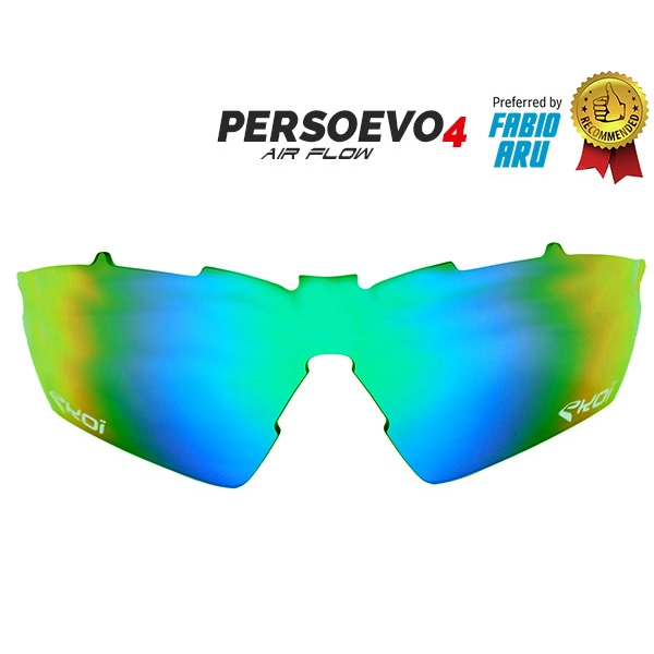 Cristal PersoEvo4 Revo verde