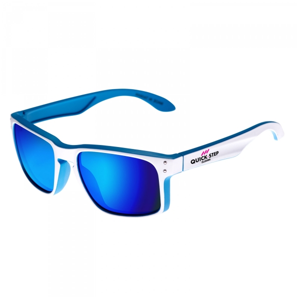 Gafas EKOI Lifestyle blancas y azules Quickstep