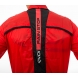 Veste Coupe Vent EKOI Rain Stop Pocket Rouge