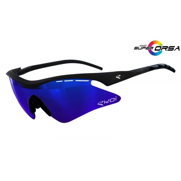 Super Corsa EKOI LTD Noir mat bleu Revo Bleu