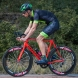 Cuissard EKOI Carbon Fiber 2 Proteam Vert fluo