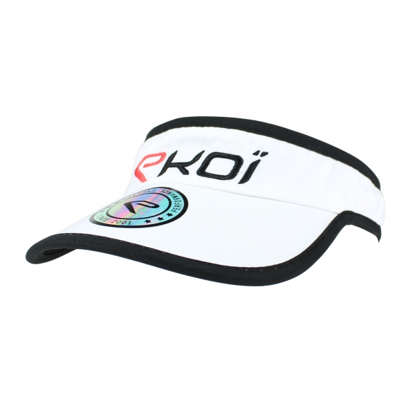 Visera EKOI RUN Runner Cap Blanco